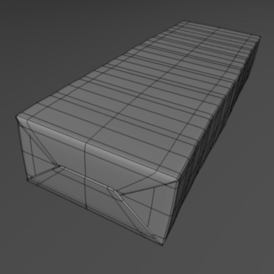 chewing.3ds royalty-free 3d model - Preview no. 4