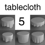 round tableclothes 3ds.zip 3d model