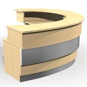 reception desk J 3d model