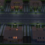 Duplex House 3d model