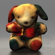 小狗娃娃 3d model