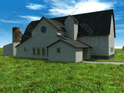Farm Structure and Out-Buildings 3d model