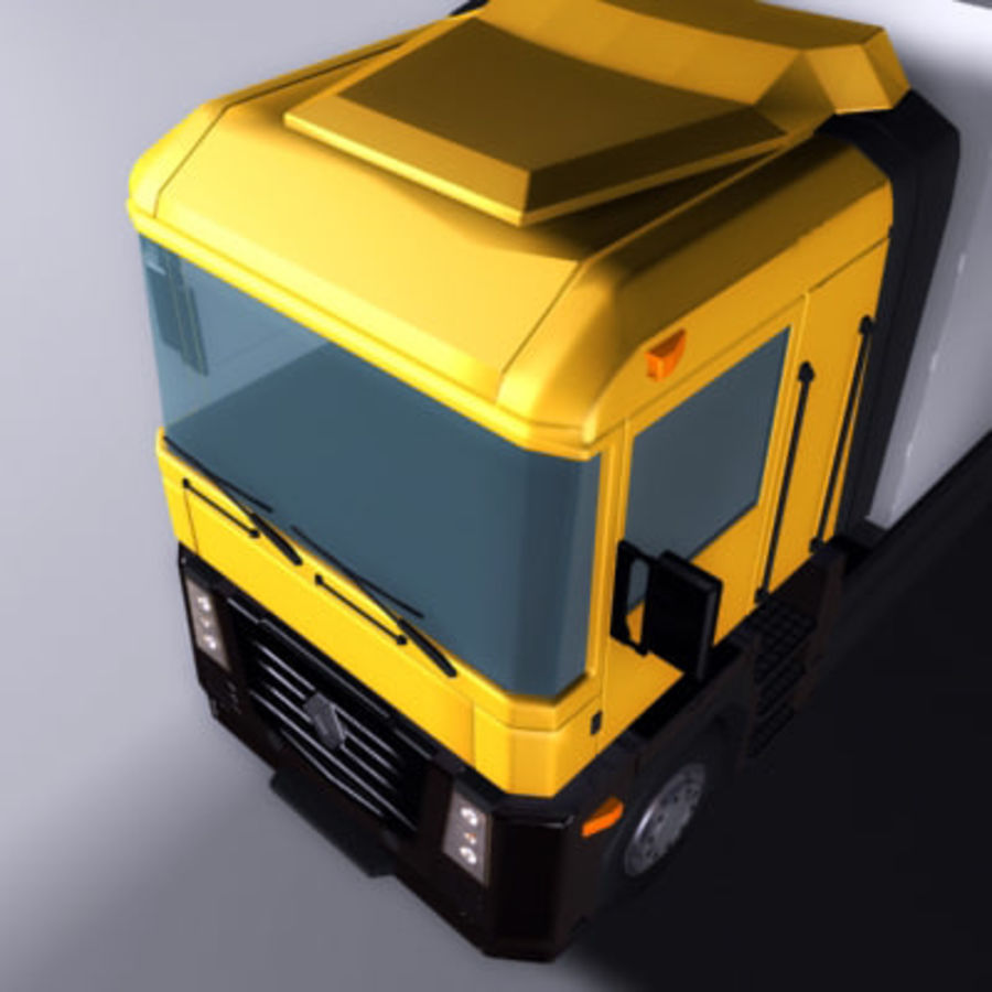 Renault Magnum royalty-free 3d model - Preview no. 5