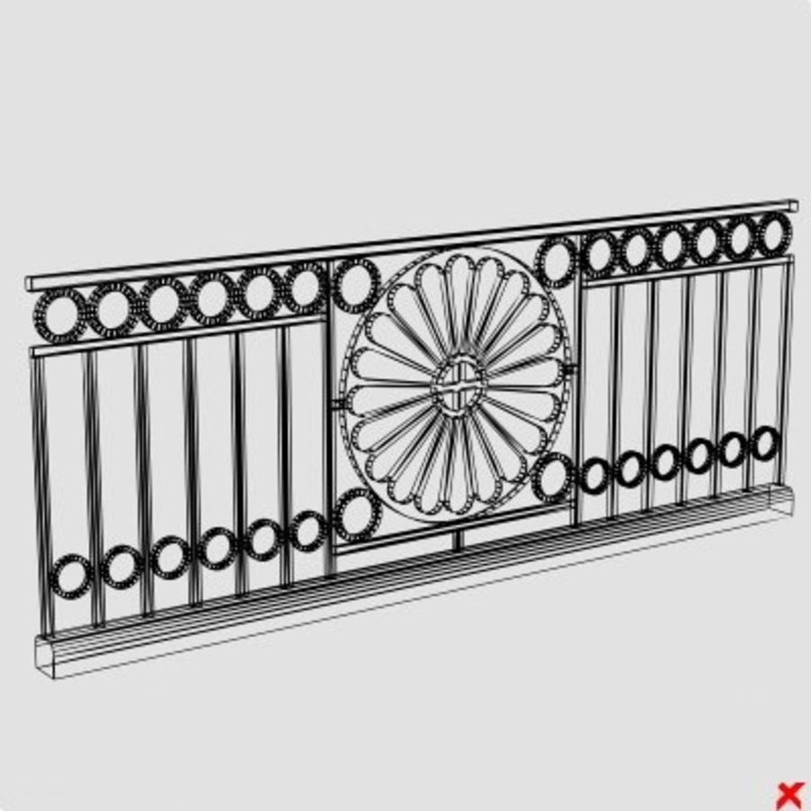 Fence021.ZIP royalty-free 3d model - Preview no. 1