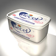 Margarine Box 3d model