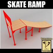 スケートランプ 3d model