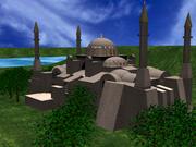圣索菲亚大教堂2 3d model