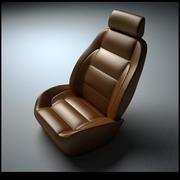 Car Seat 01 3d model