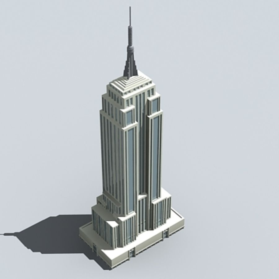 Empire State Building D Obj Free Download