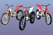 Trial Bikes 3d model