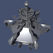 high detailed lantern 3d model