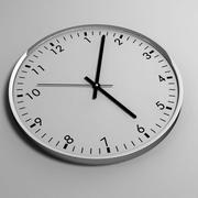 clock 12 3d model
