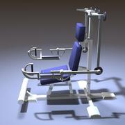 Fitness Machine 3d model
