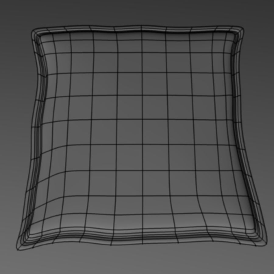 pillow1.3ds royalty-free 3d model - Preview no. 3