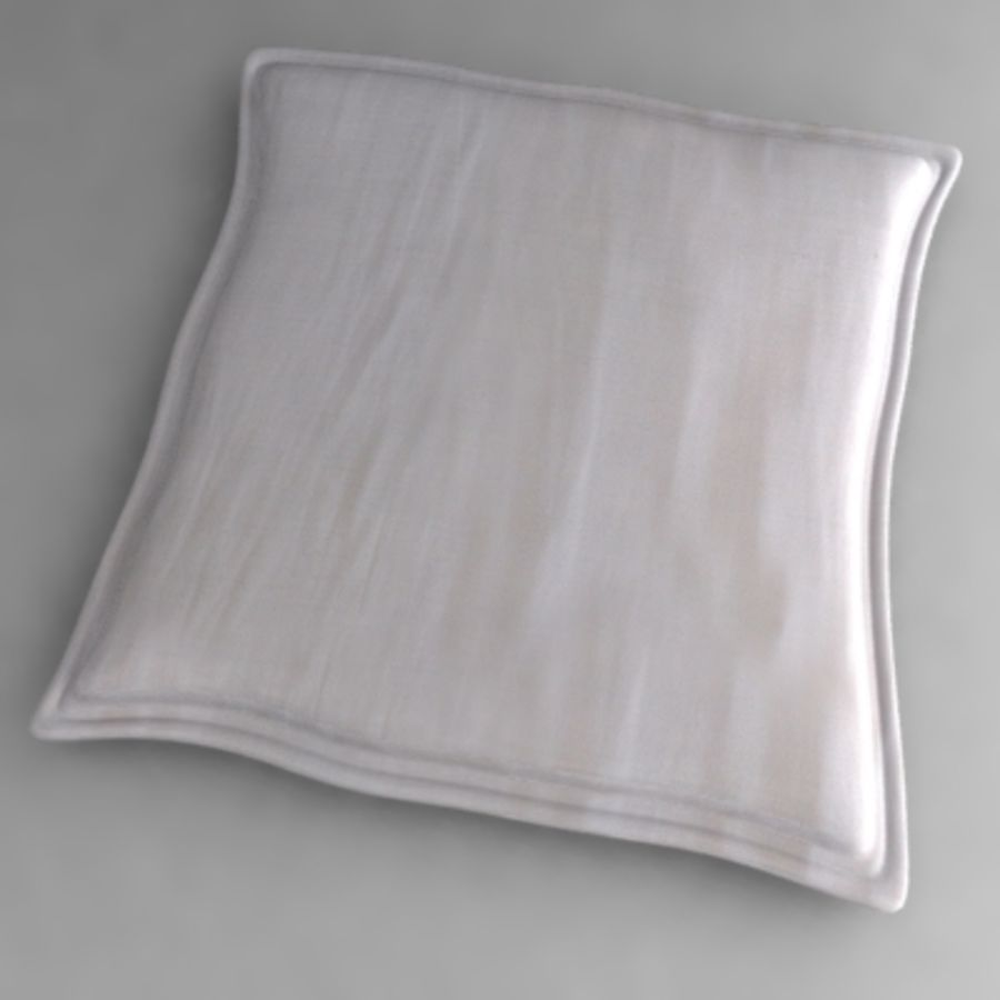 pillow1.3ds royalty-free 3d model - Preview no. 1