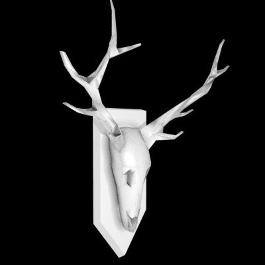 red deer royalty-free 3d model - Preview no. 53
