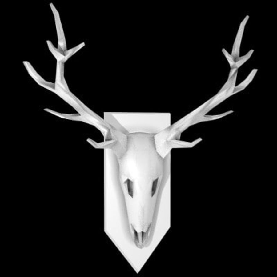 red deer royalty-free 3d model - Preview no. 3