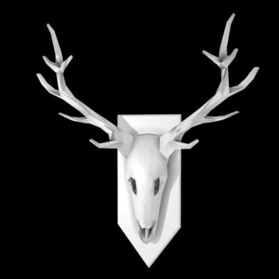 red deer royalty-free 3d model - Preview no. 39
