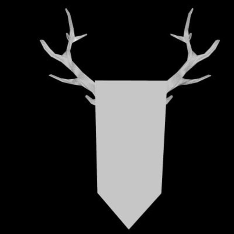 red deer royalty-free 3d model - Preview no. 8