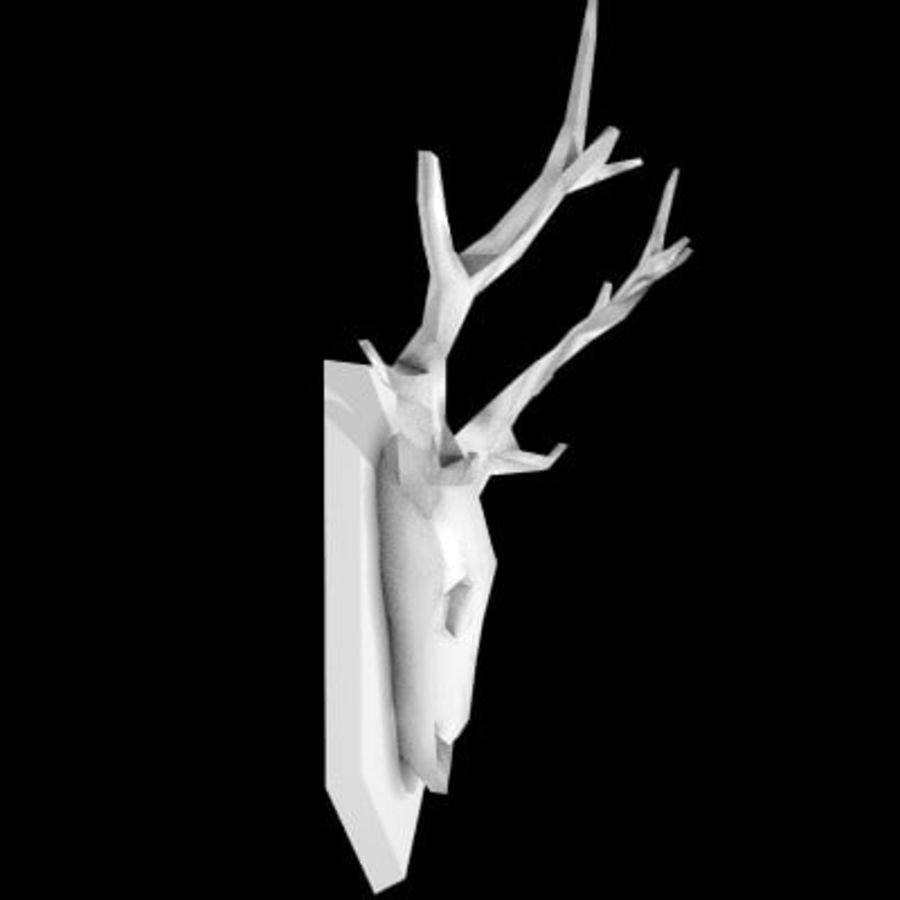 red deer royalty-free 3d model - Preview no. 48