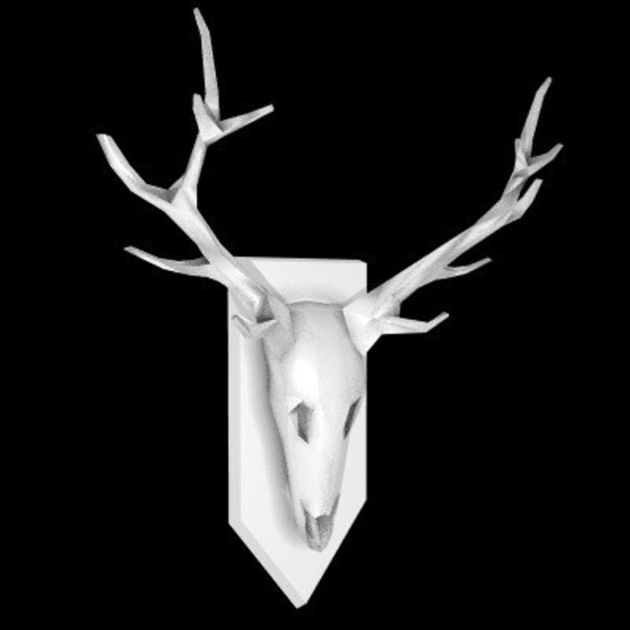 red deer royalty-free 3d model - Preview no. 54