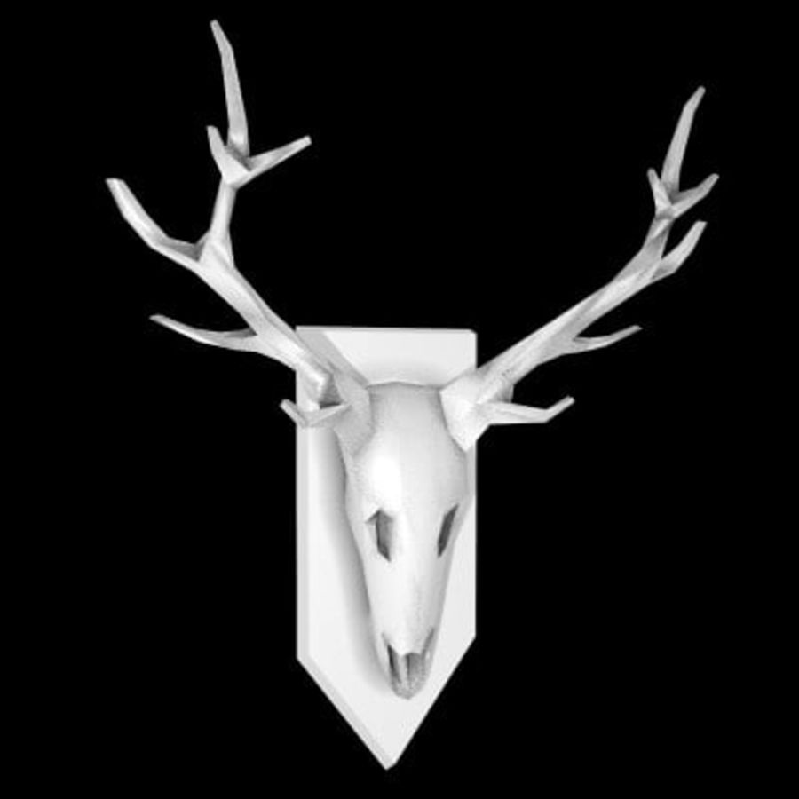 red deer royalty-free 3d model - Preview no. 50
