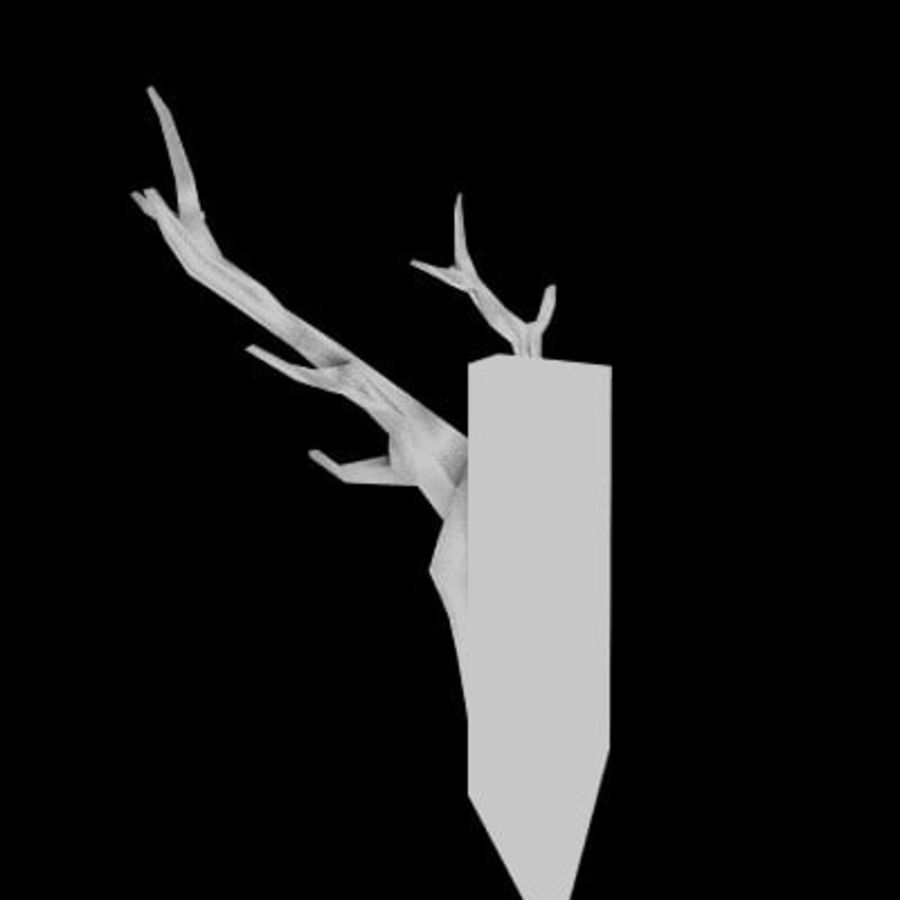 red deer royalty-free 3d model - Preview no. 22