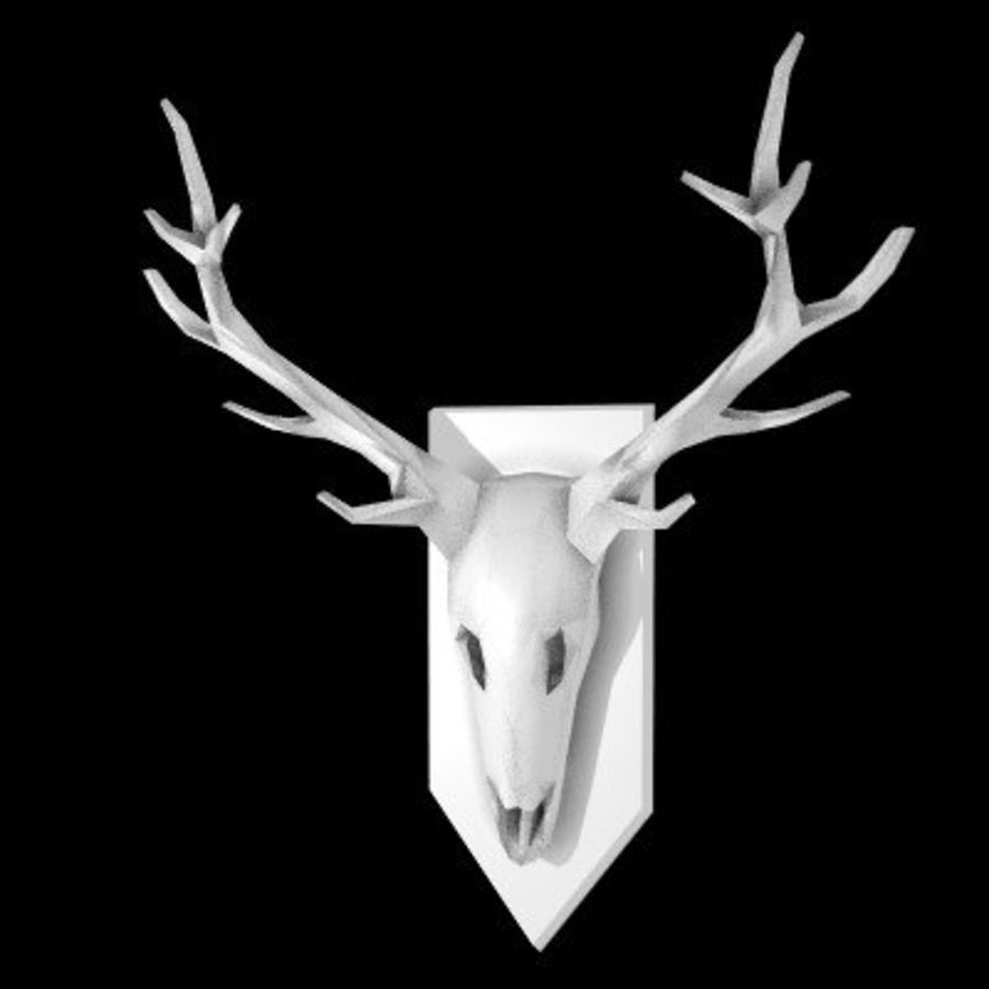 red deer royalty-free 3d model - Preview no. 55