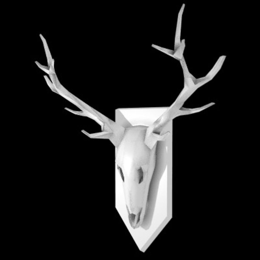 red deer royalty-free 3d model - Preview no. 2