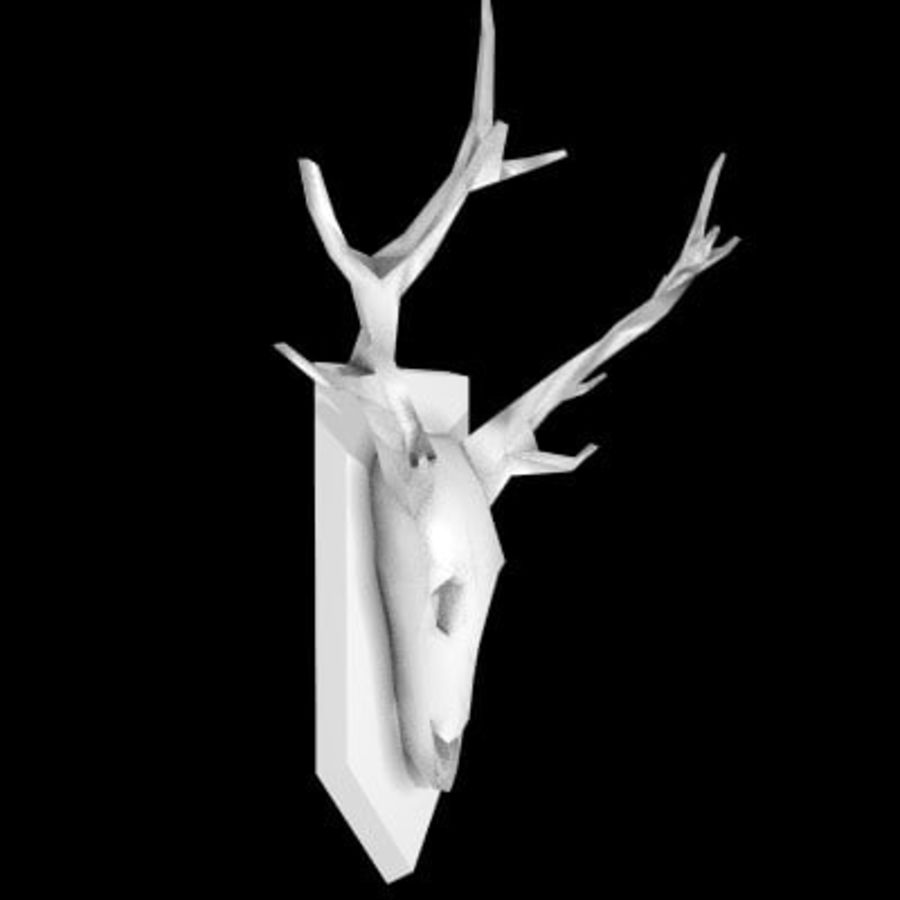 red deer royalty-free 3d model - Preview no. 47