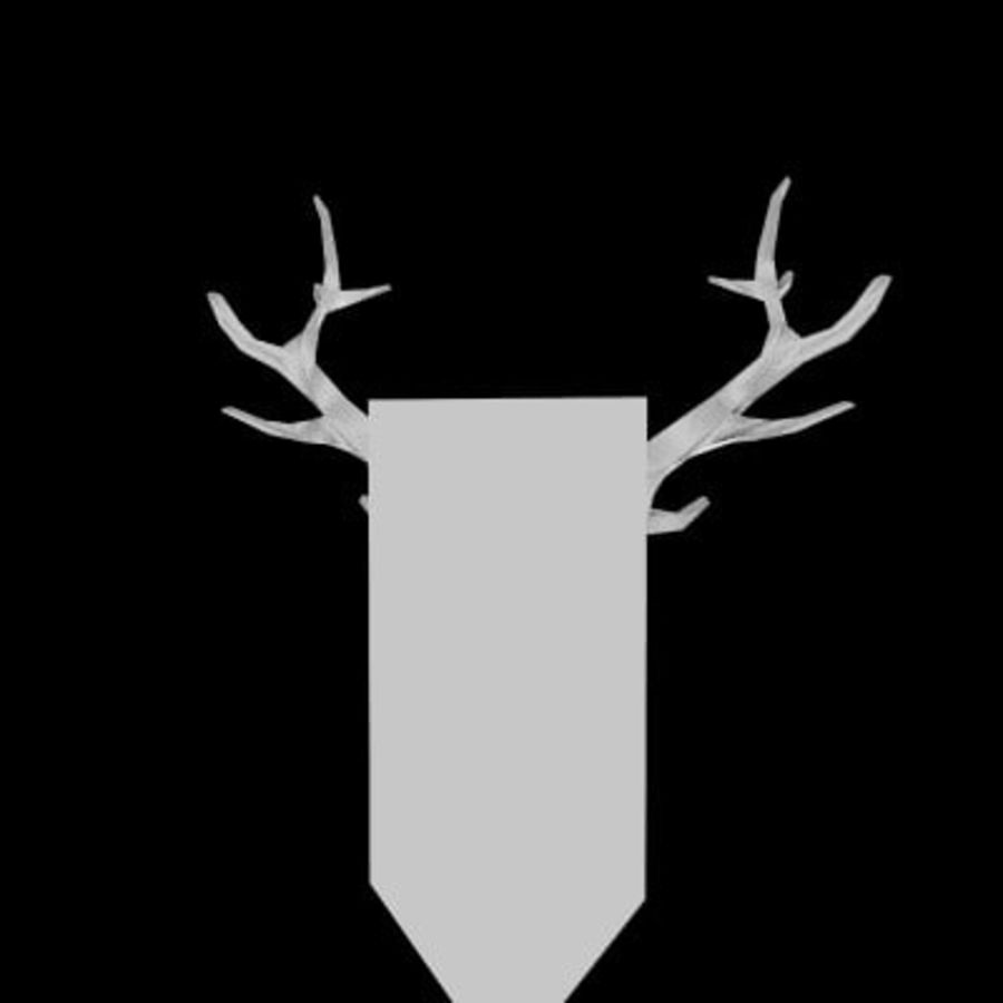 red deer royalty-free 3d model - Preview no. 29