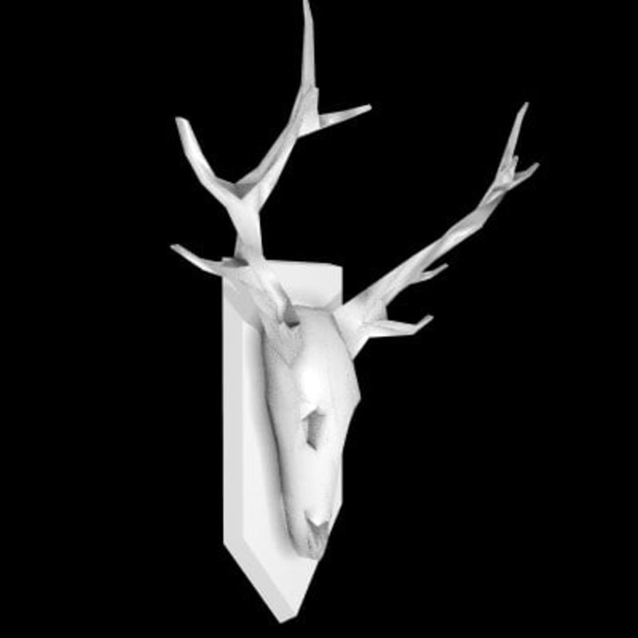 red deer royalty-free 3d model - Preview no. 49