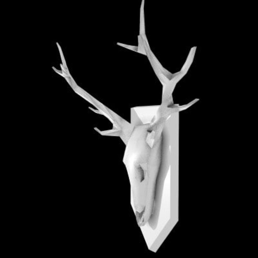 red deer royalty-free 3d model - Preview no. 12