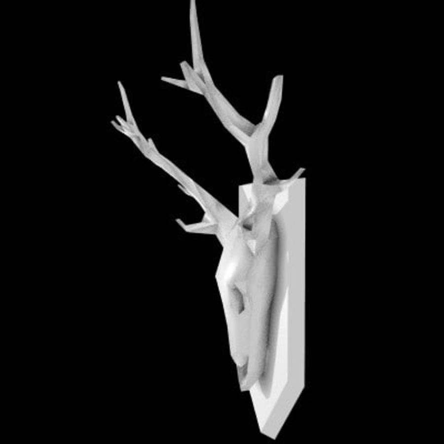 red deer royalty-free 3d model - Preview no. 15