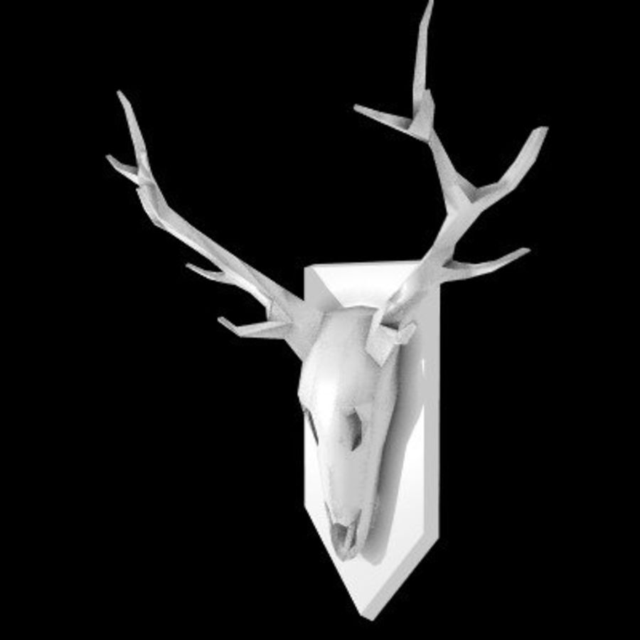 red deer royalty-free 3d model - Preview no. 10