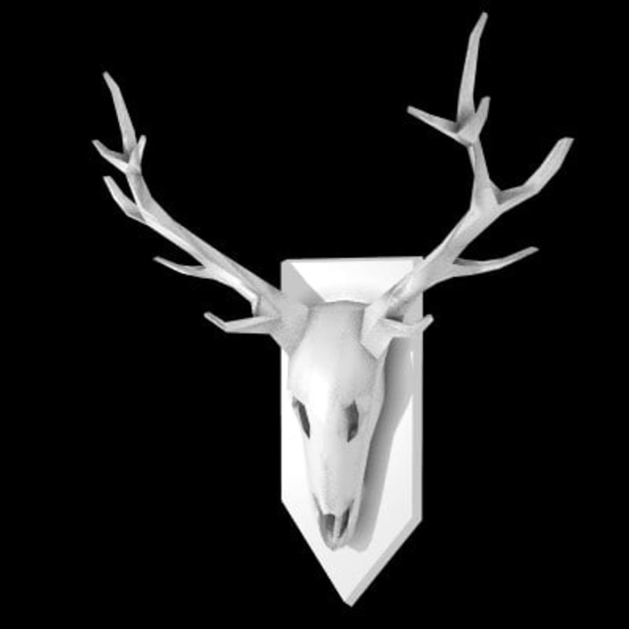red deer royalty-free 3d model - Preview no. 58