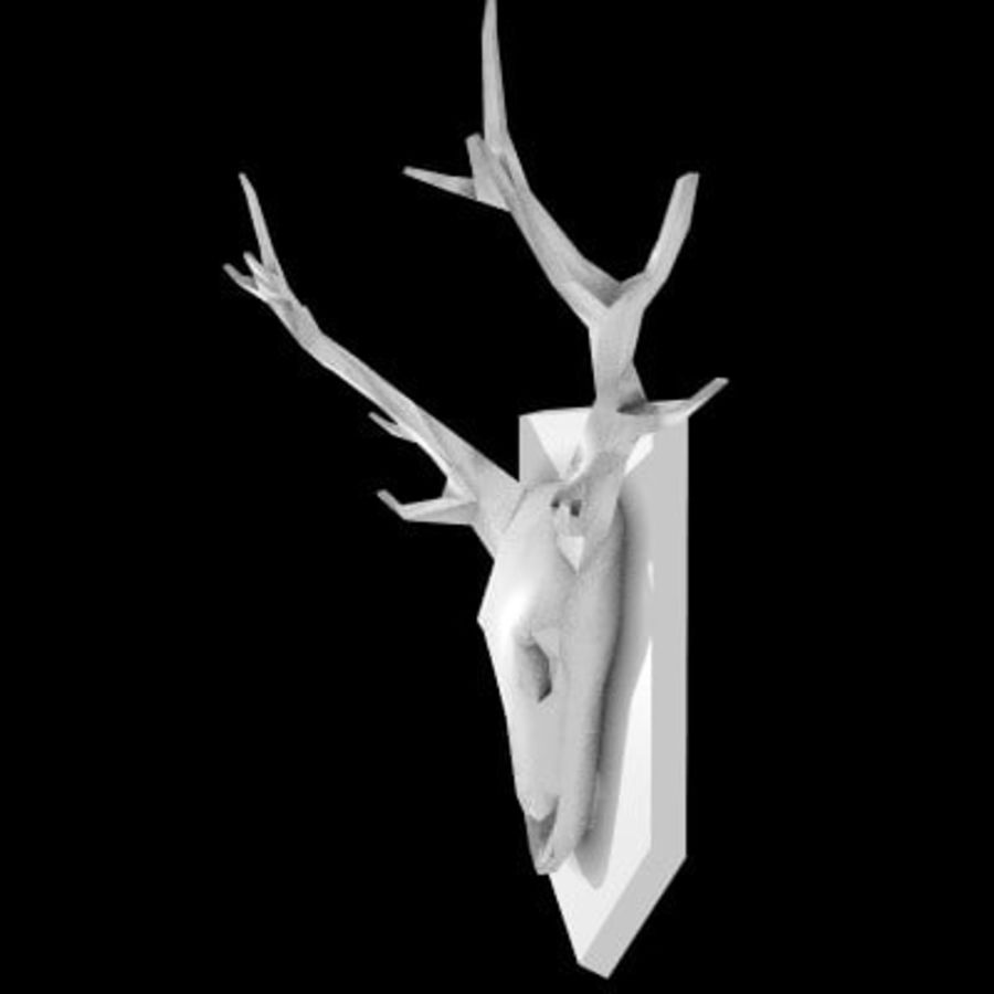 red deer royalty-free 3d model - Preview no. 13