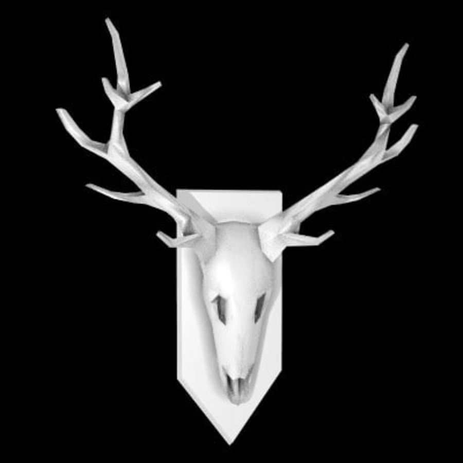 red deer royalty-free 3d model - Preview no. 51