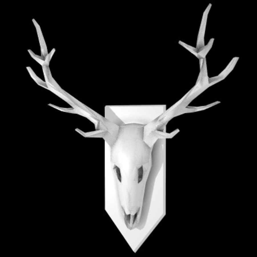 red deer royalty-free 3d model - Preview no. 4