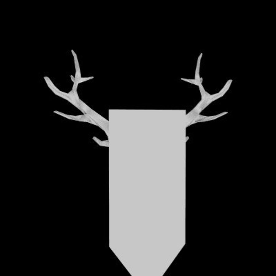 red deer royalty-free 3d model - Preview no. 30