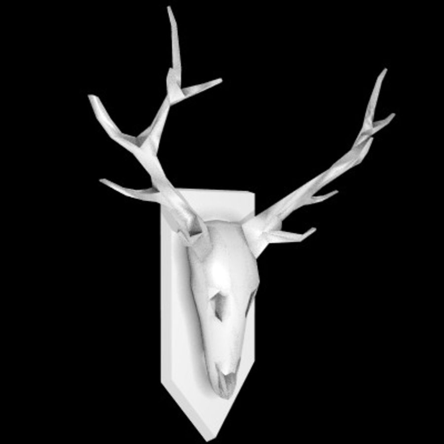 red deer royalty-free 3d model - Preview no. 5