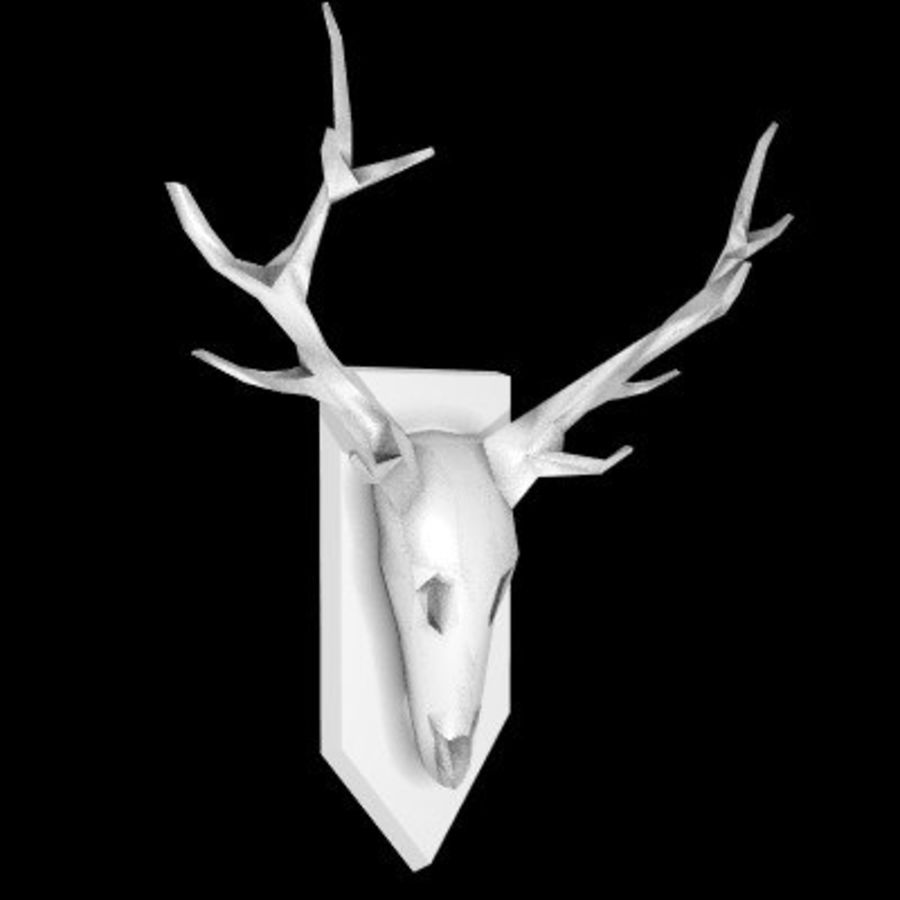 red deer royalty-free 3d model - Preview no. 56