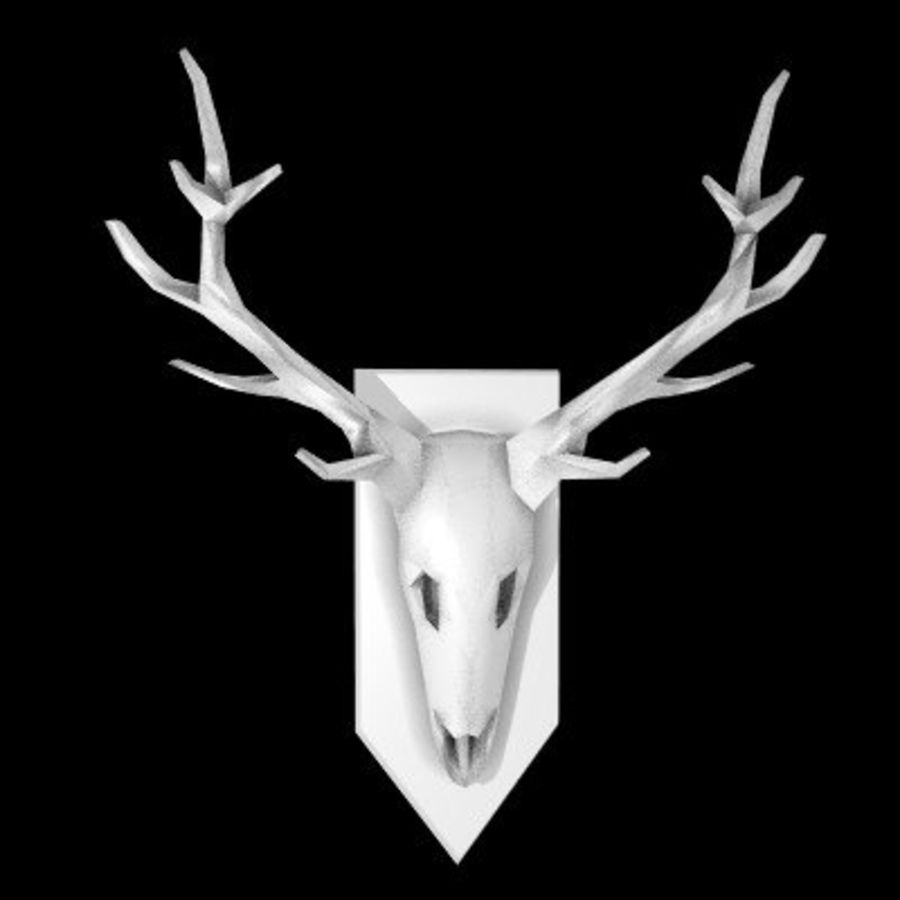 red deer royalty-free 3d model - Preview no. 52