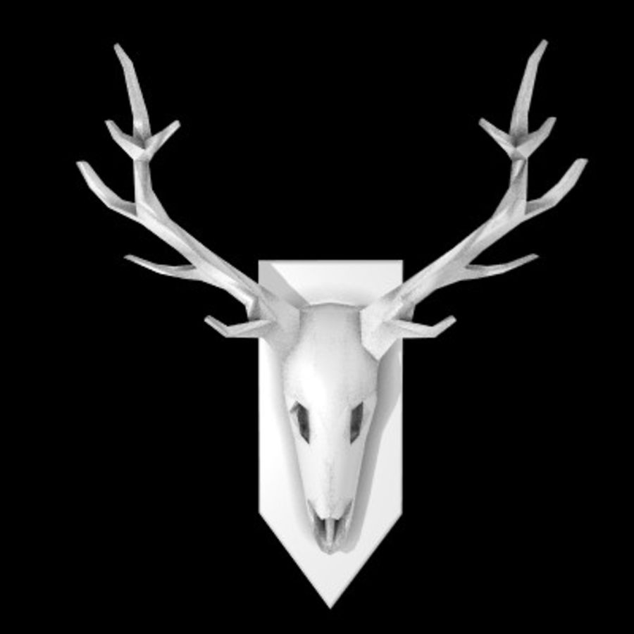 red deer royalty-free 3d model - Preview no. 1