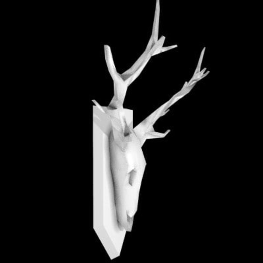 red deer royalty-free 3d model - Preview no. 46