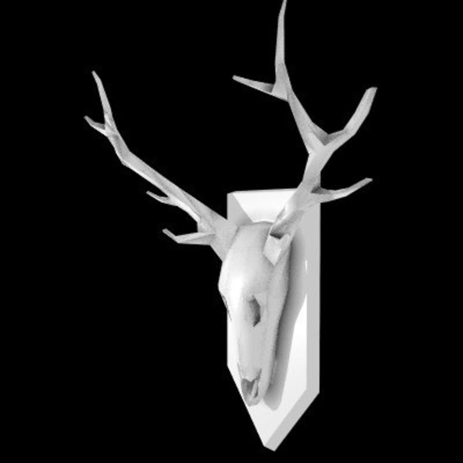 red deer royalty-free 3d model - Preview no. 11