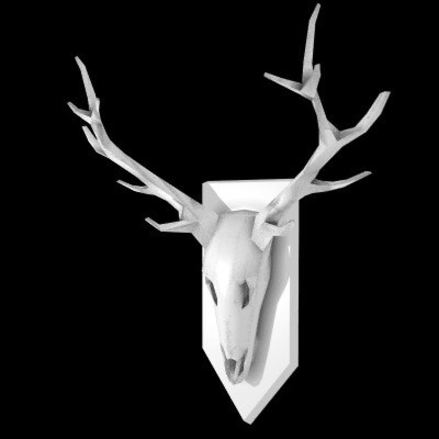 red deer royalty-free 3d model - Preview no. 9