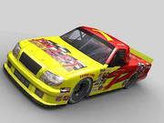 Pro Race Truck - Game Ready 3d model