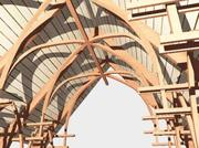 Neo-Gothic Arches 3d model