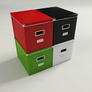 gran caja de kassett modelo 3d